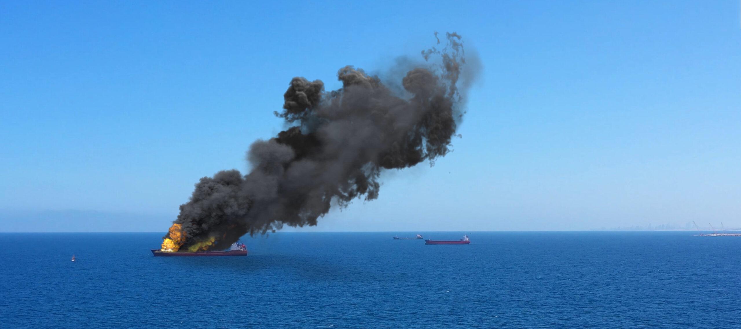 Пожары на корабле часто начинаются с ошибок на берегу