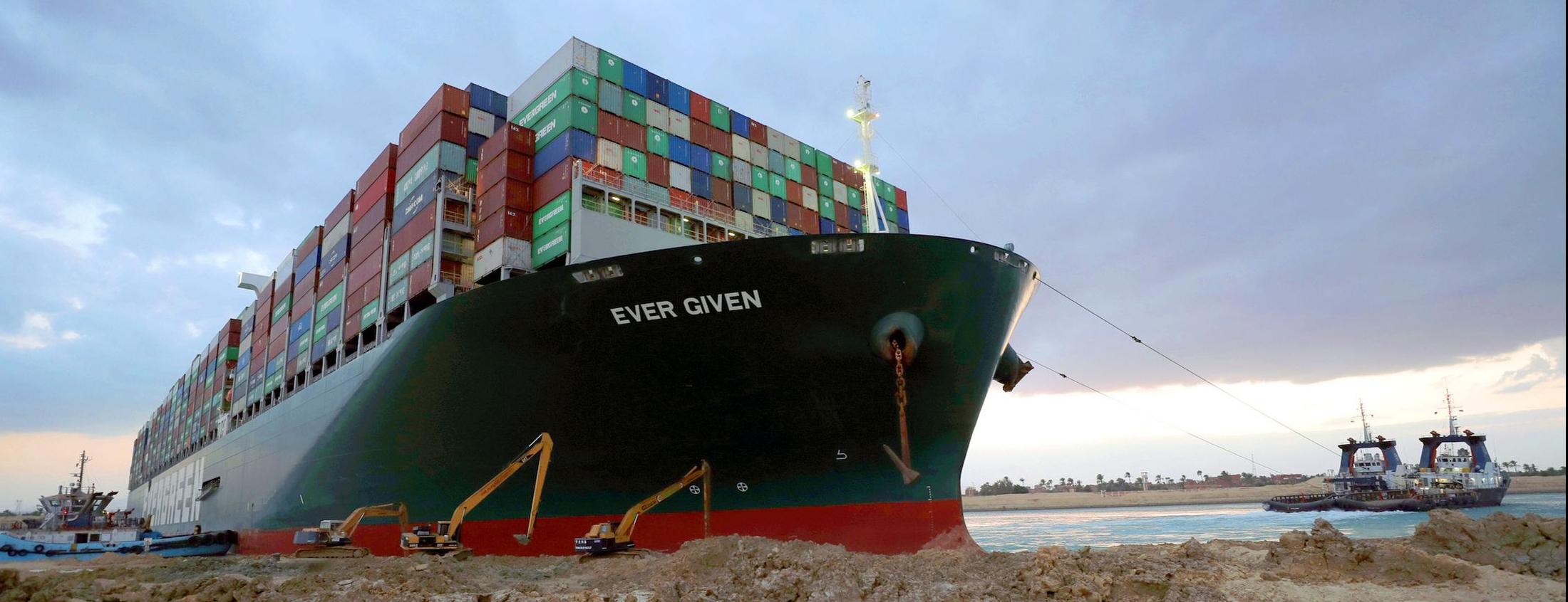 Общая авария на судне EVER GIVEN - рекомендации ТТ Клуба экспедиторам и грузовладельцам